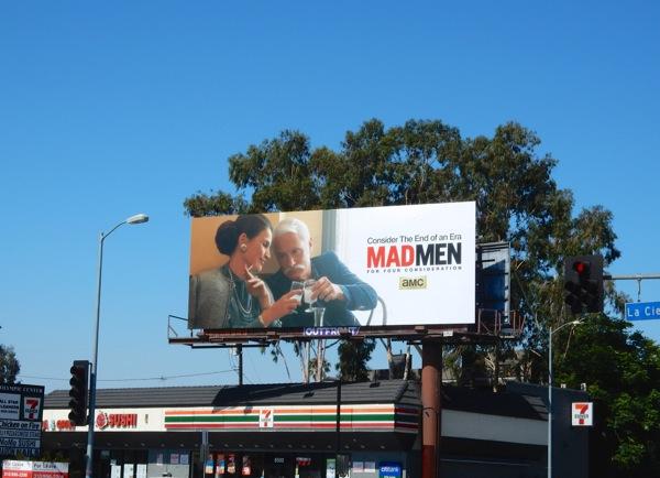 Mad Men 2015 Emmy Roger billboard