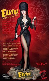 Elvira maquette by Tweeterhead