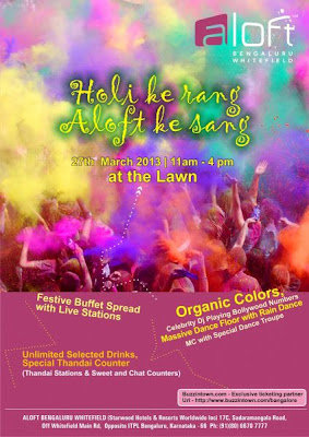 Holi Ke Rang events in Bangalore