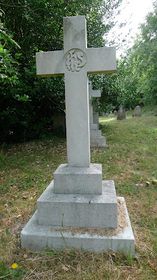 The grave of 2nd Lt. W.H. Wilson, RAF