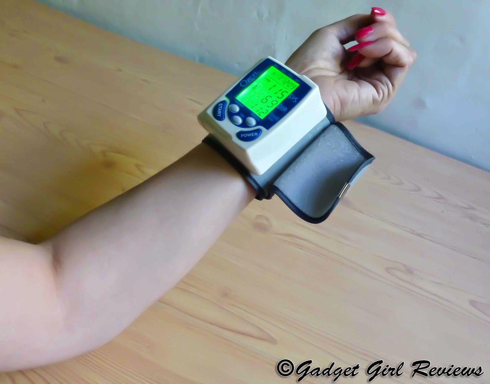 Gad Girl Reviews Ozeri CardioTech Digital Blood Pressure Monitor