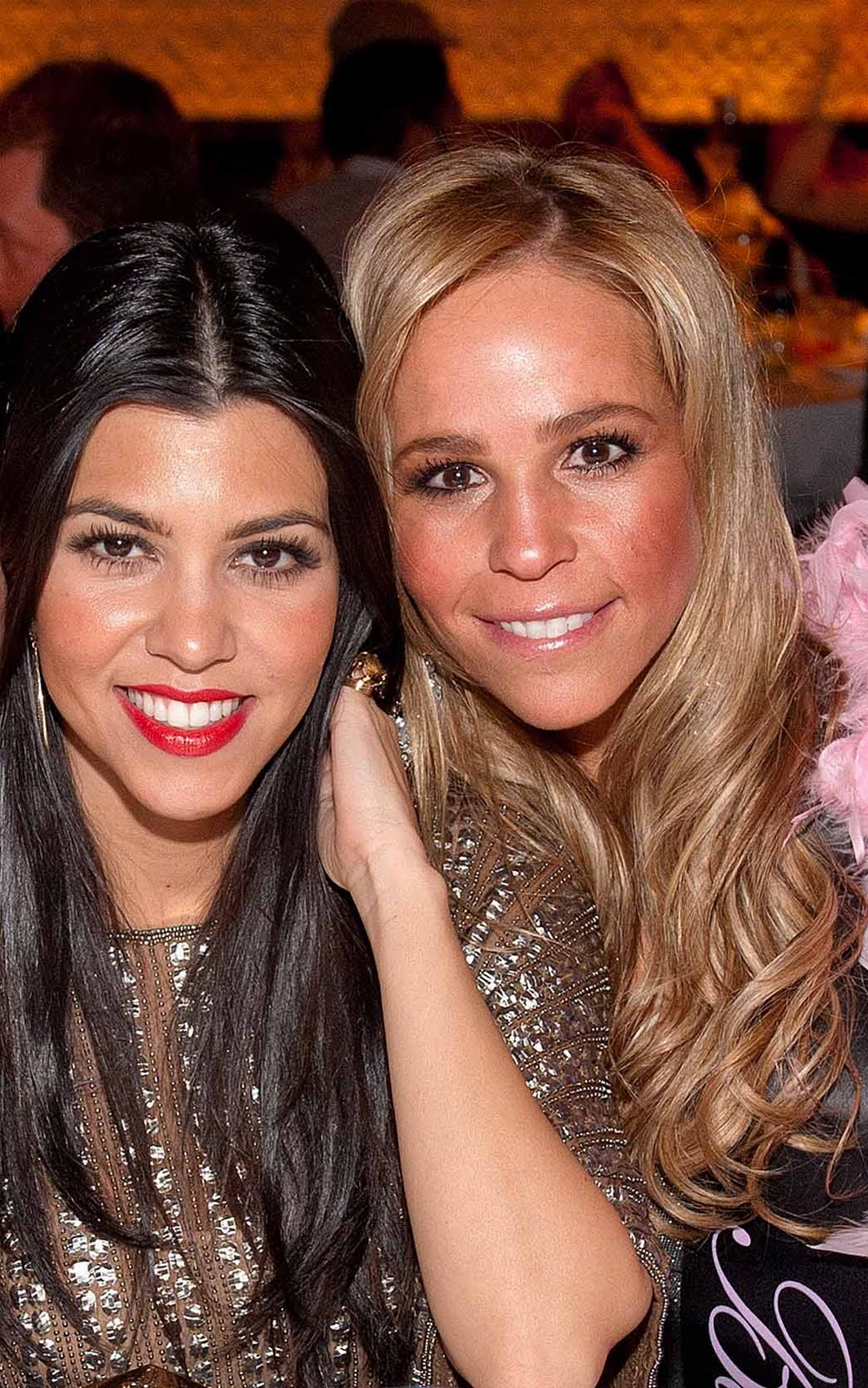 Photo of Kourtney Kardashian & her friend  Alison Shulman