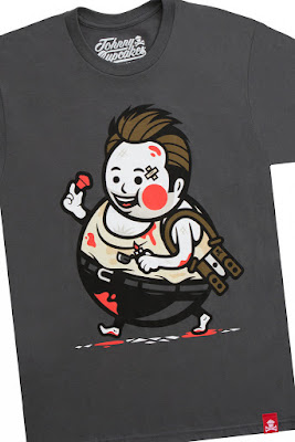 "Die Hard Inspired T-Shirt ""Big Kid Holiday Hero"" by Johnny Cupcakes"