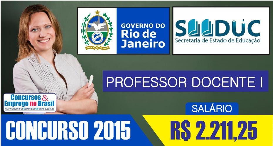 apostila professor docente I SEEDUC-RJ 2015