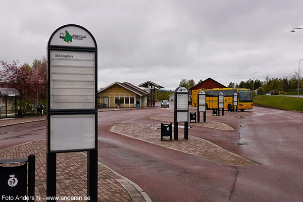 Torsby bussterminal, resecentrum