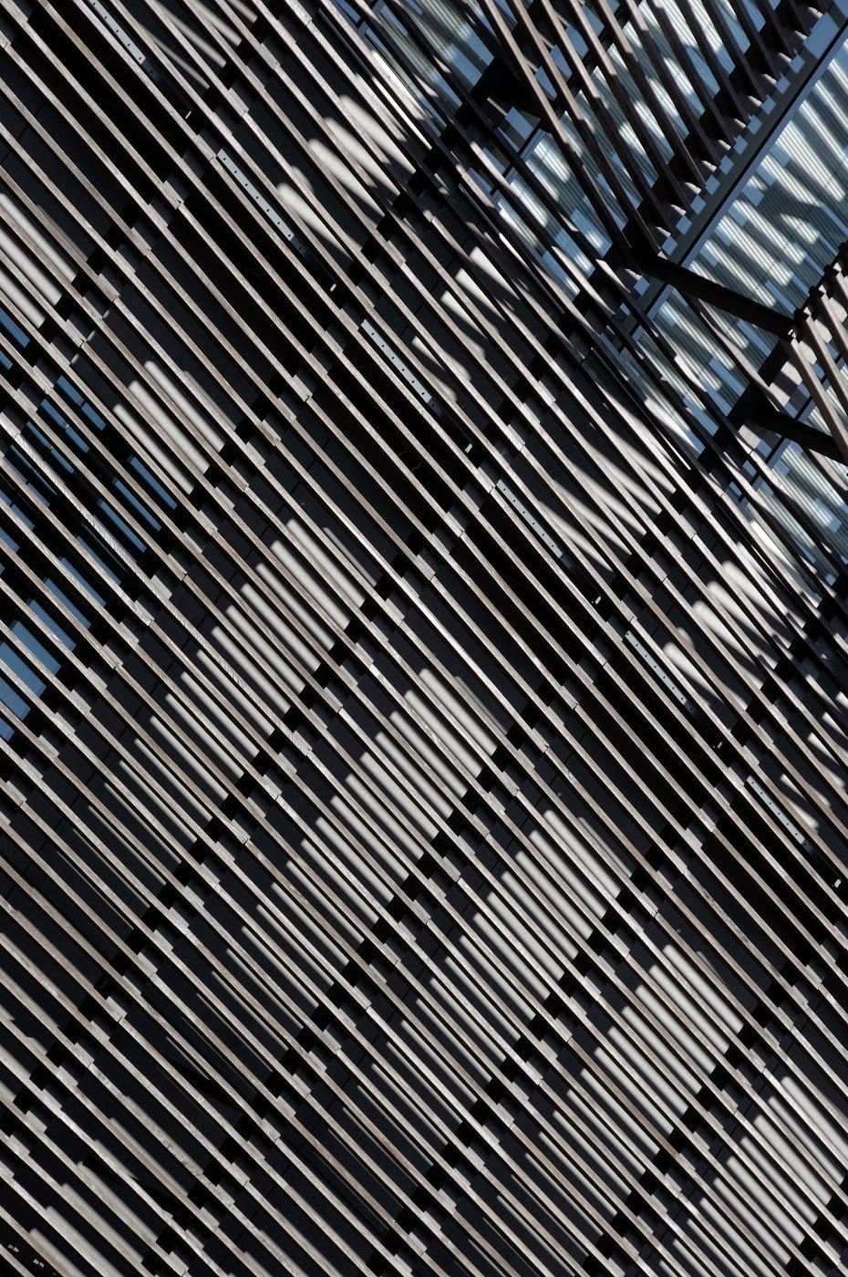 Abstract, abstraction, abstractional, graphic, graphical, detail, postmodern, postmodernist, façade, architecture, architectural, tim Macauley, the light monkey collective, new, stunning, amazing, I now know what it's like to live in a jukebox, Australia, Australian, goma, gallery of modern art, Brisbane, architectus