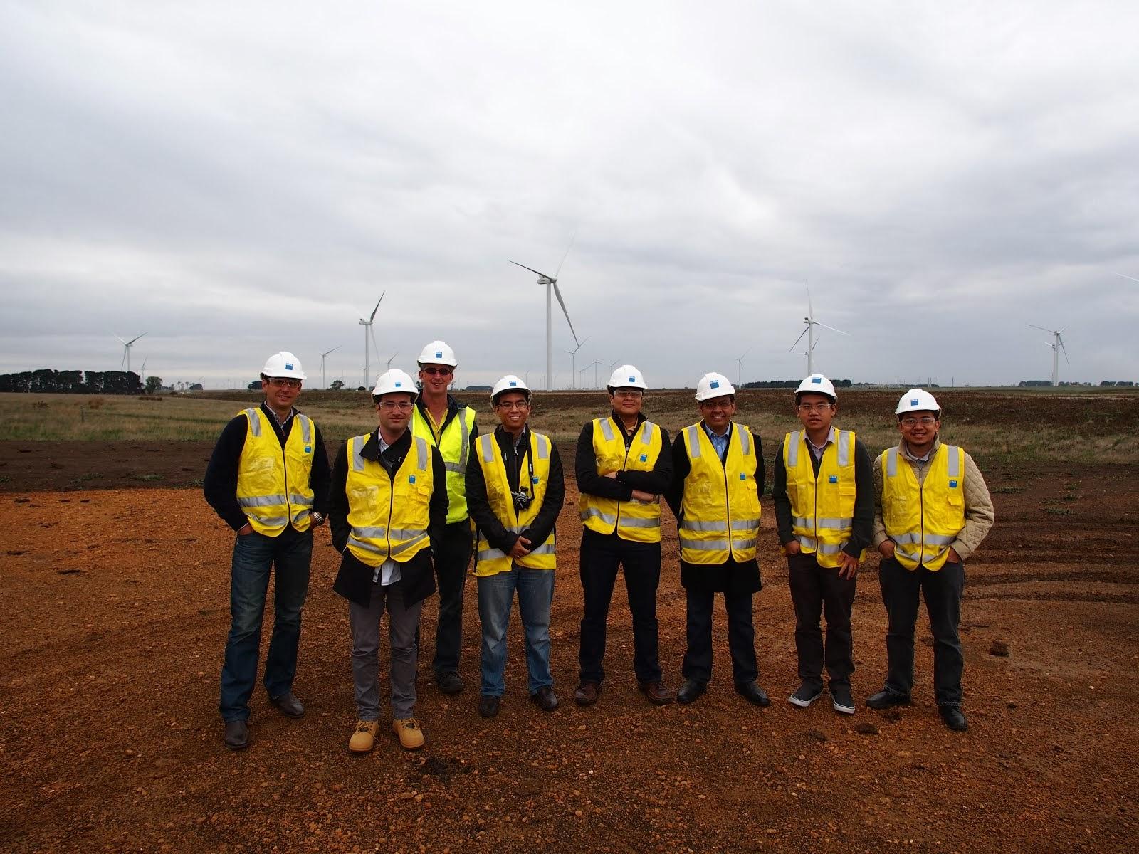 Australian trip to 420MW Macarthur Wind Farm