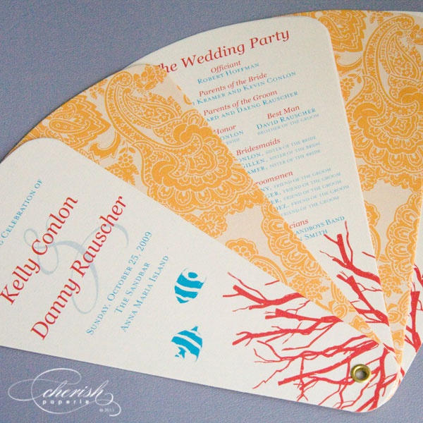 featured programs anna maria island wedding program designer