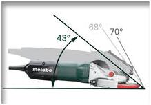 Máy mài góc đầu bẹt Metabo WEF 9-125