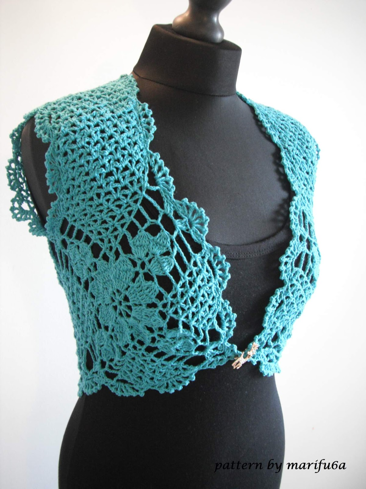 Crochet Bolero Pattern Best Design