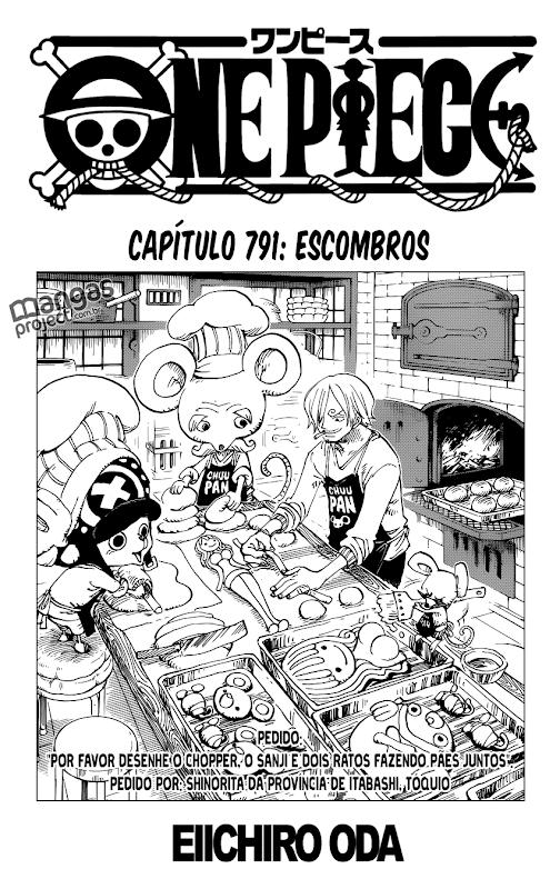 One Piece Mangá 791, Mangá One Piece 791, One Piece Capítulo 791, One piece 791, Todos os Mangás, ler, português, traduzido, legendados