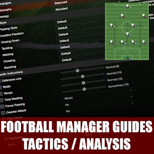 Football Manager Tactics and formation