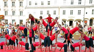 Kinder am Pflasterspektakel Linz 2013