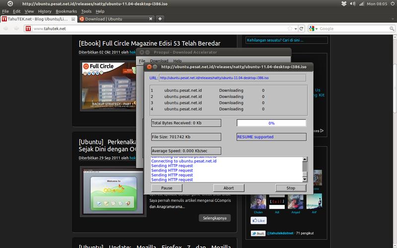 Integrasi ProzGUI dengan Mozilla Firefox
