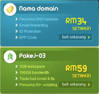 Domain Hosting Murah