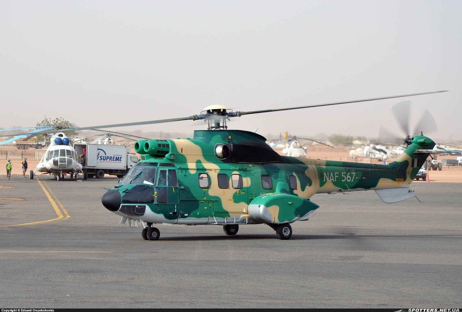 Armée Nigériane / Nigerian Armed Forces - Page 2 SUDAN+NVALA+AEROSPATIALE+AS+332+SUPER+PUMA+NAF+567+NIGERIANO+14-03-2012