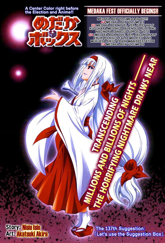 Medaka Box chap 137 - Trang 2