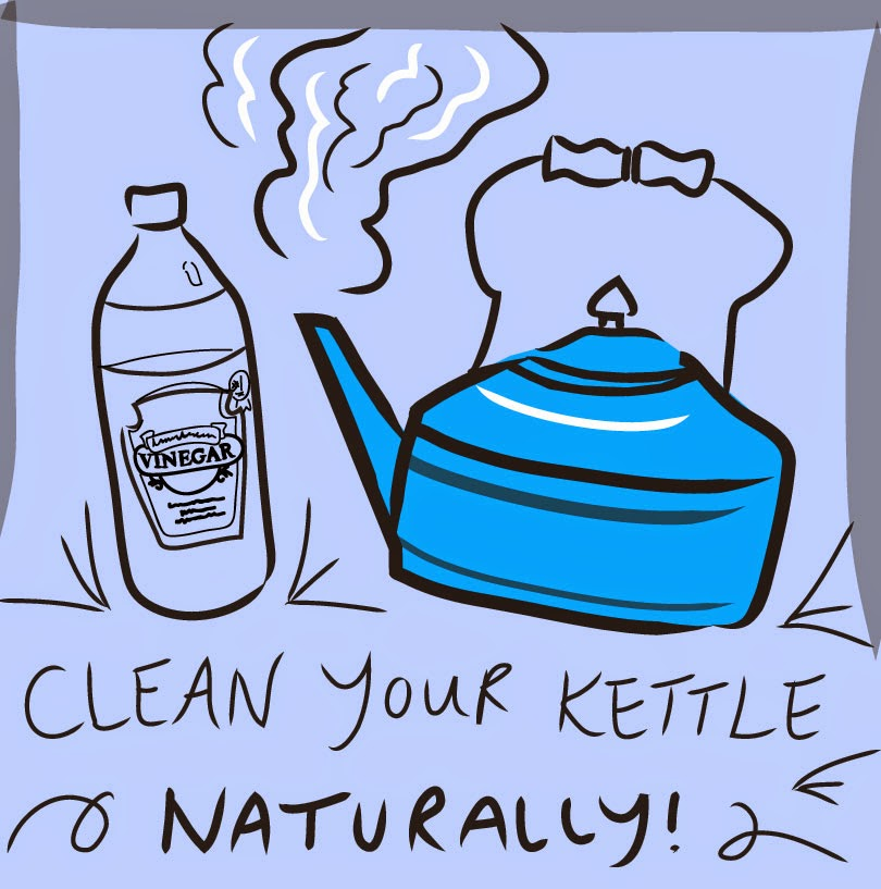 how to clean kettle calcium
