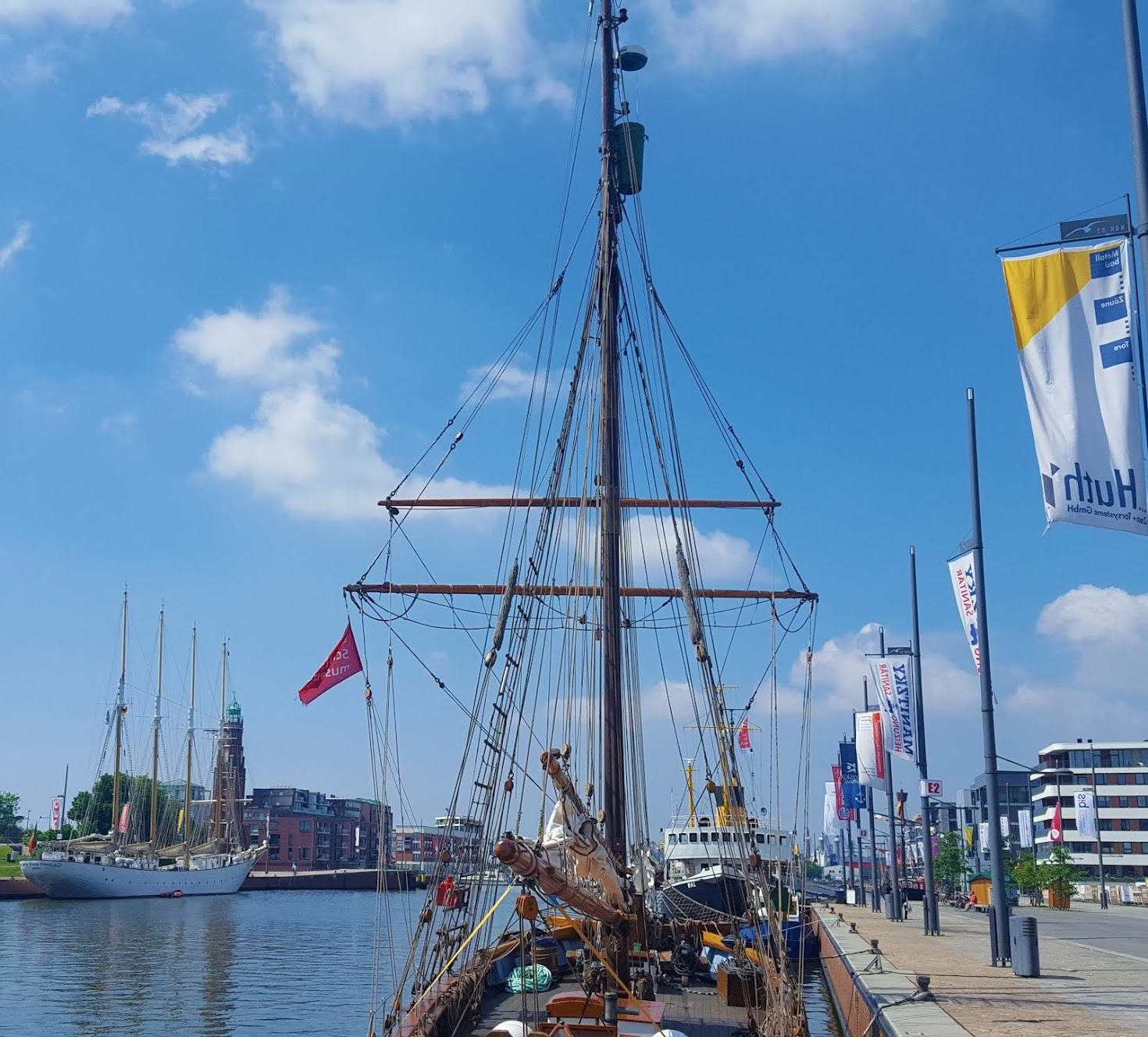 Maritimes Flair Panorama Bremerhaven -360 Link: