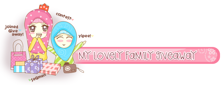 ! My Lovely Family Giveaway !