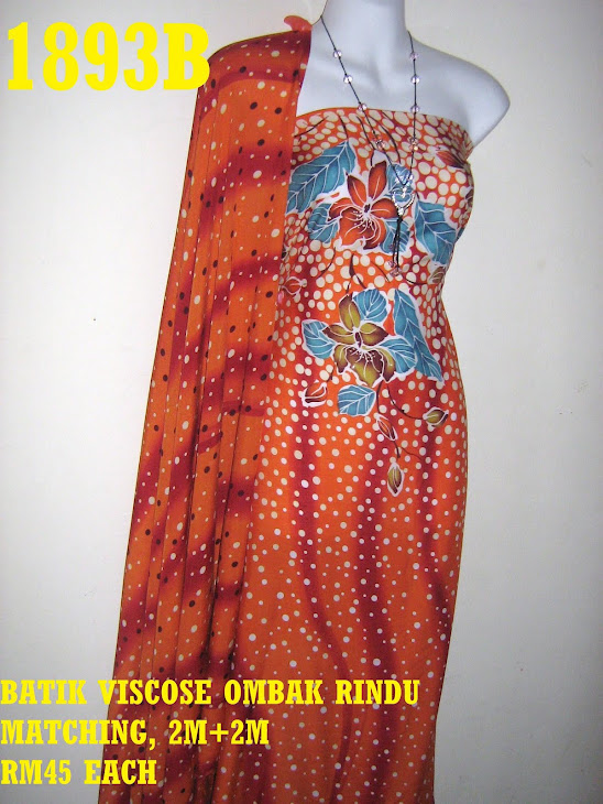 BVM 1893B: BATIK VISCOSE MATCHING, 2M+2M