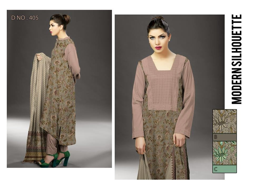 Ajwa spring summer lawn collection 2015