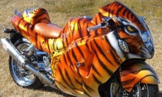 Racing Motor Bentuk Binatang