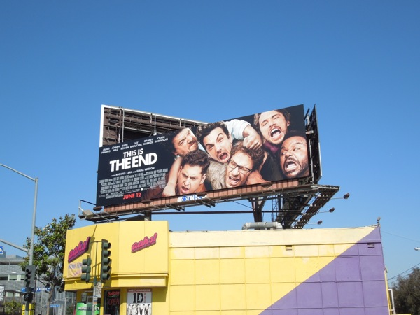 This Is The End billboard