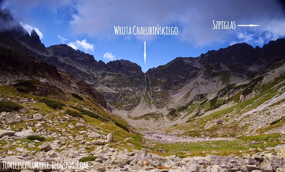 Wrota Chałubińskiego i Dolina za Mnichem