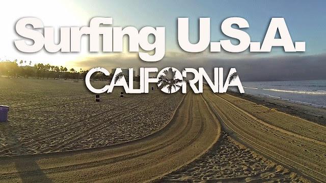 TEASER Surfing USA CALIFORNIA - LuzuVlogs