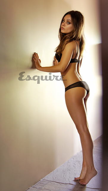 Mila Kunis looking hot in sexy underwear - Sexiest Woman Alive 2012 Photo Shoot by Esquire
