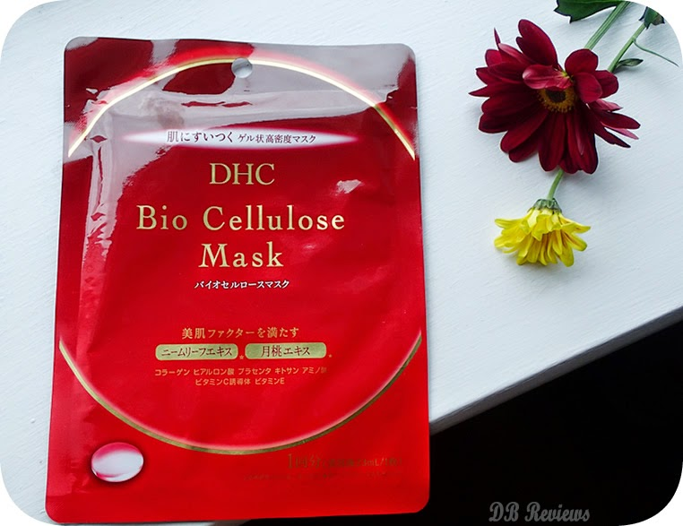 Hydrating DHC Bio Cellulose Mask