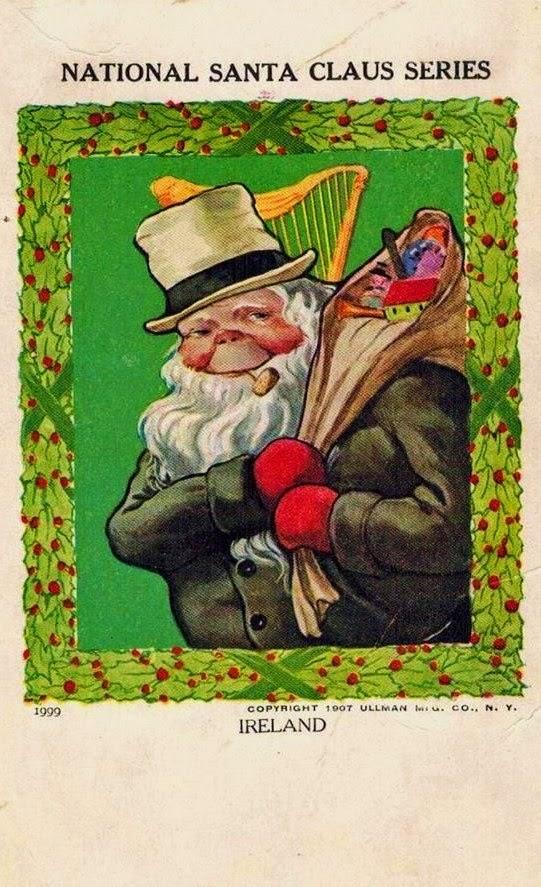 Irish Santa Limerick