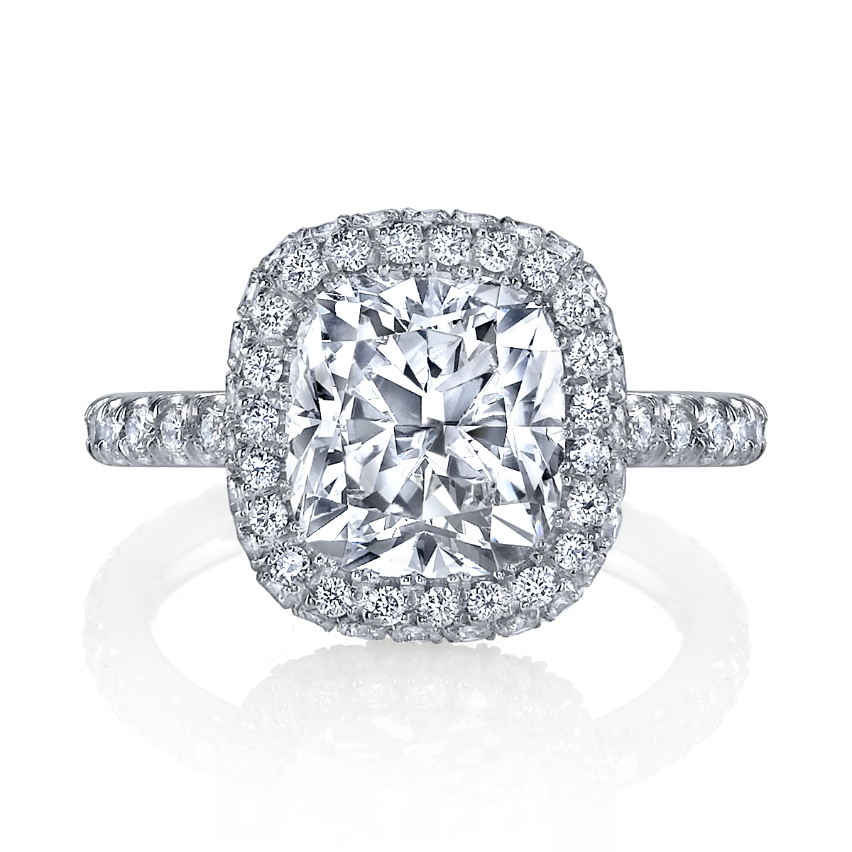 Jewelry news network jean dousset finds niche with custom for Diamond wedding ring images