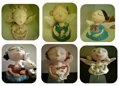 Anjos e  Bonecas