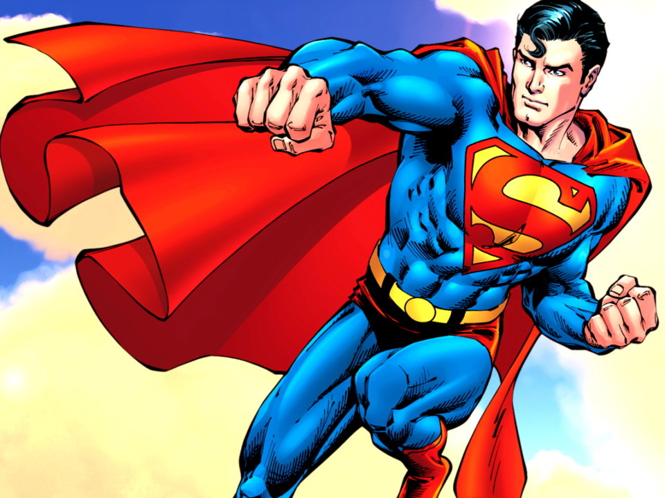 Video of Superman wearing a GoPro