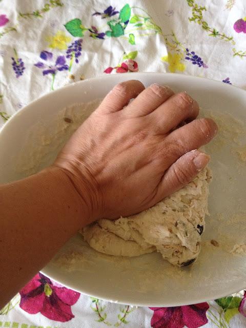Pan de avena y pipas de calabaza