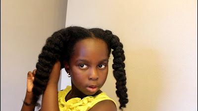 Heatless Stretching Natural Hair: Banding