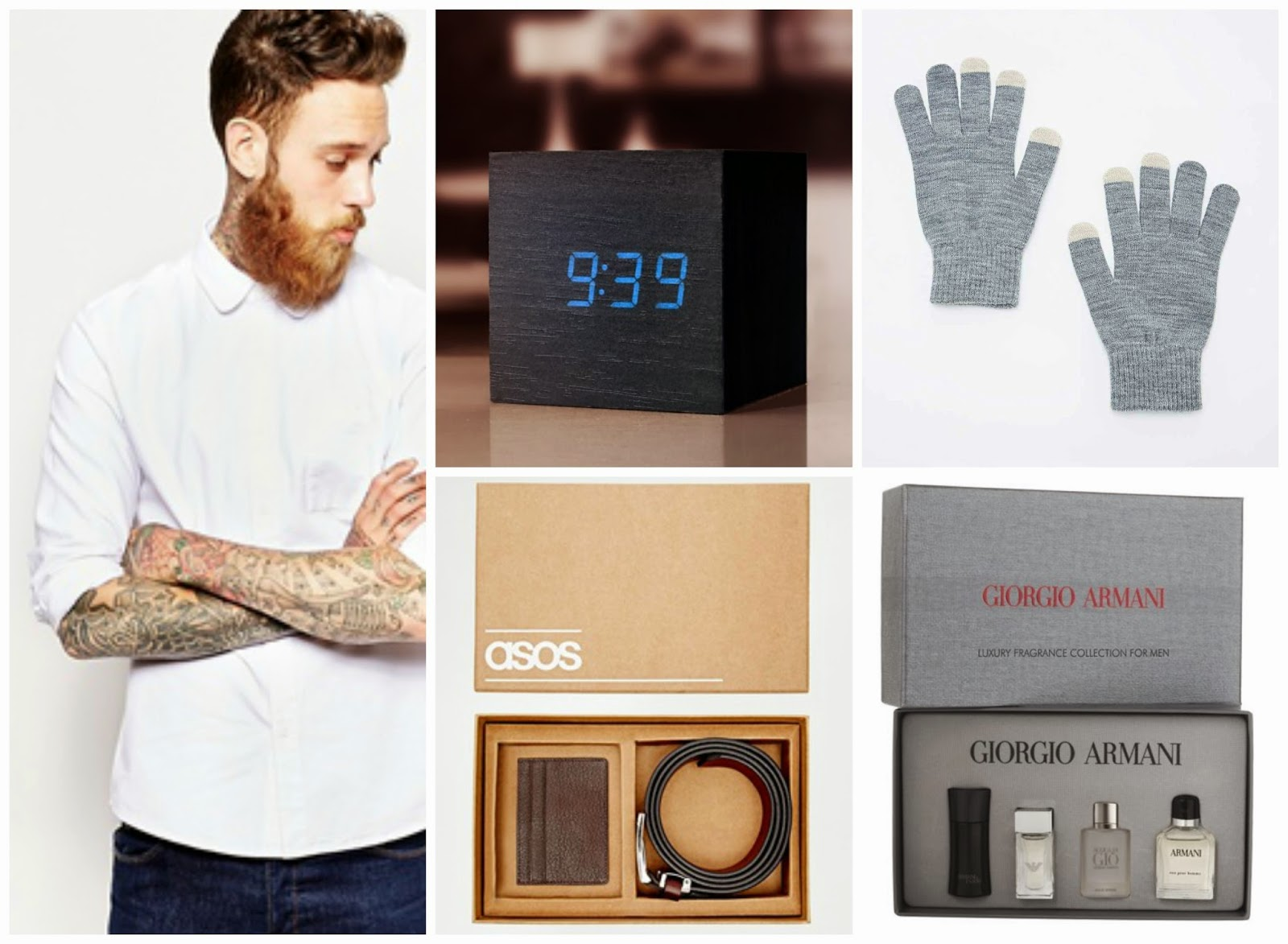 Male Christmas Gift Guide - // GEEK GETS GLAM //