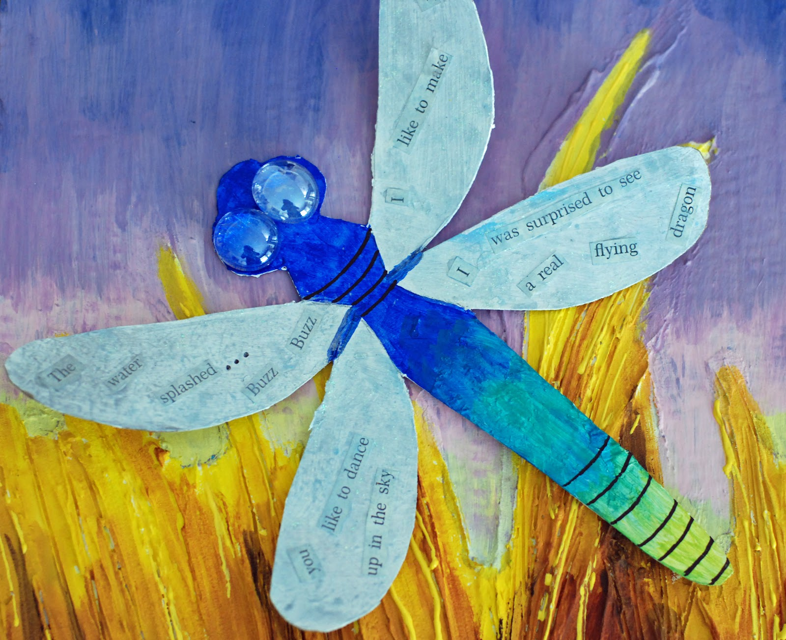 Dragonfly arts and crafts - Dragonfly Arts And Crafts 13