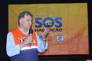 """Cel. Roberto Silva, secretário municipal de Defesa Civil: """"Essa soma de esforços para informar a população sobre como agir neste período crítico de chuvas é muito válida"""""""