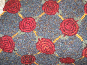 Hildegard's Lollipop Flower Rug