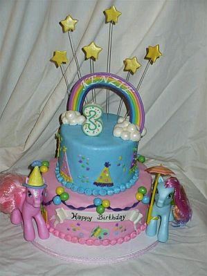 MyTotalNetcom My Little Pony Kids Party Cakes