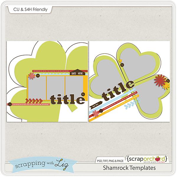 http://scraporchard.com/market/Shamrock-Digital-Scrapbook-Templates.html