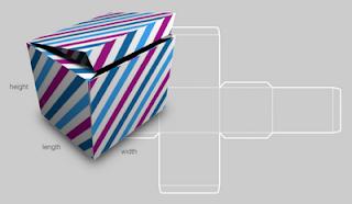 moldes para caixas