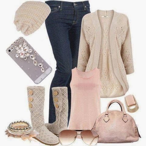 Adorable fall fashion with jeans