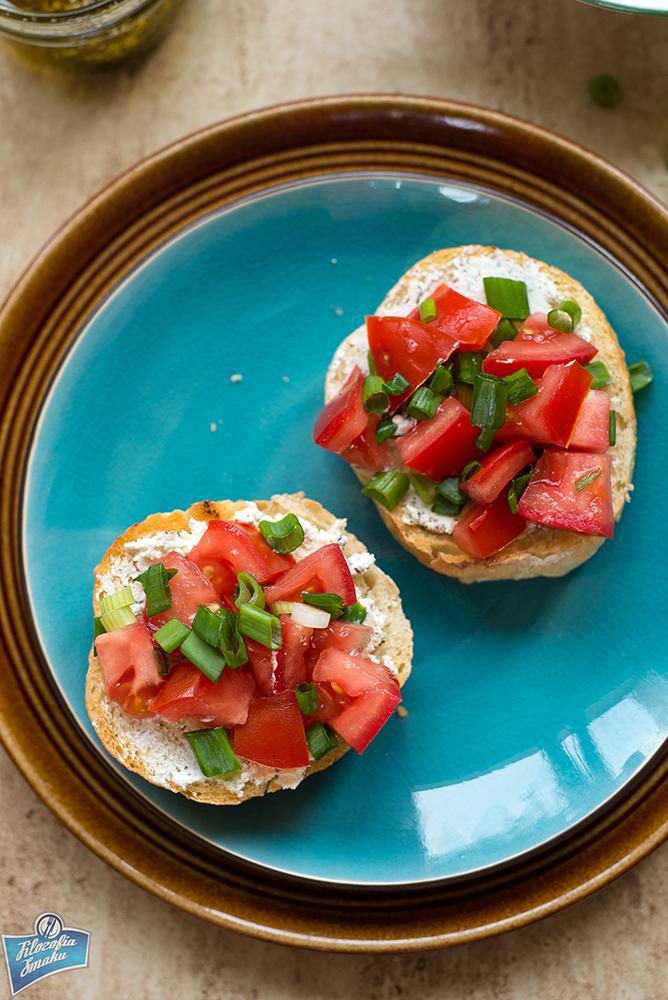 Kanapki z pomidorem