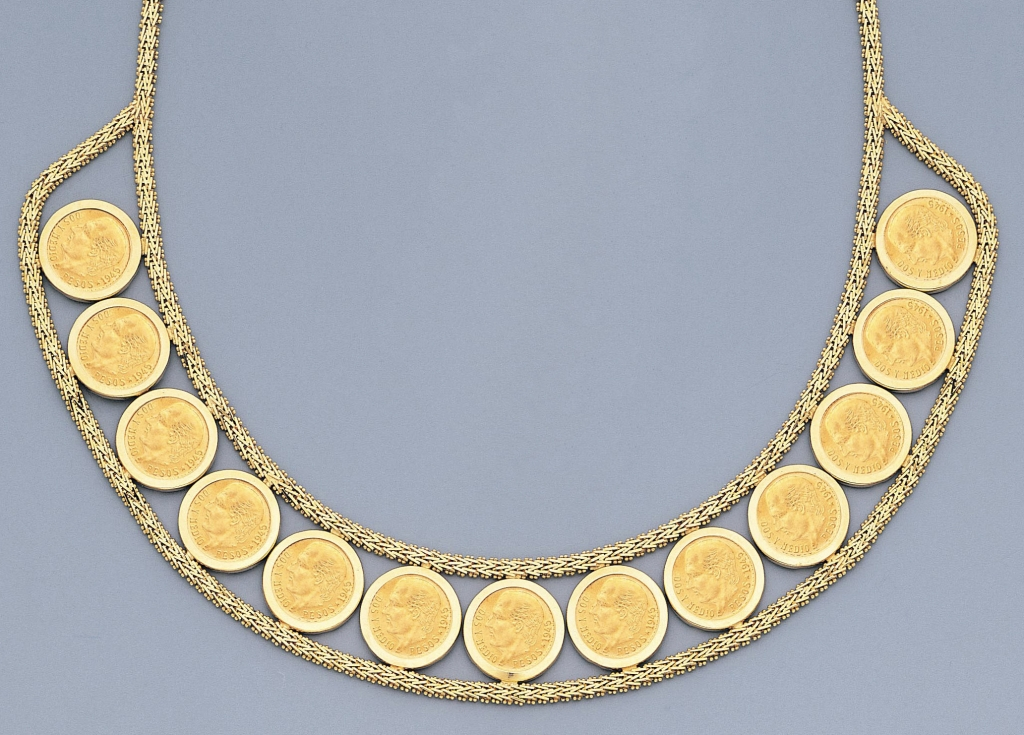 local style coin jewelry from around the world