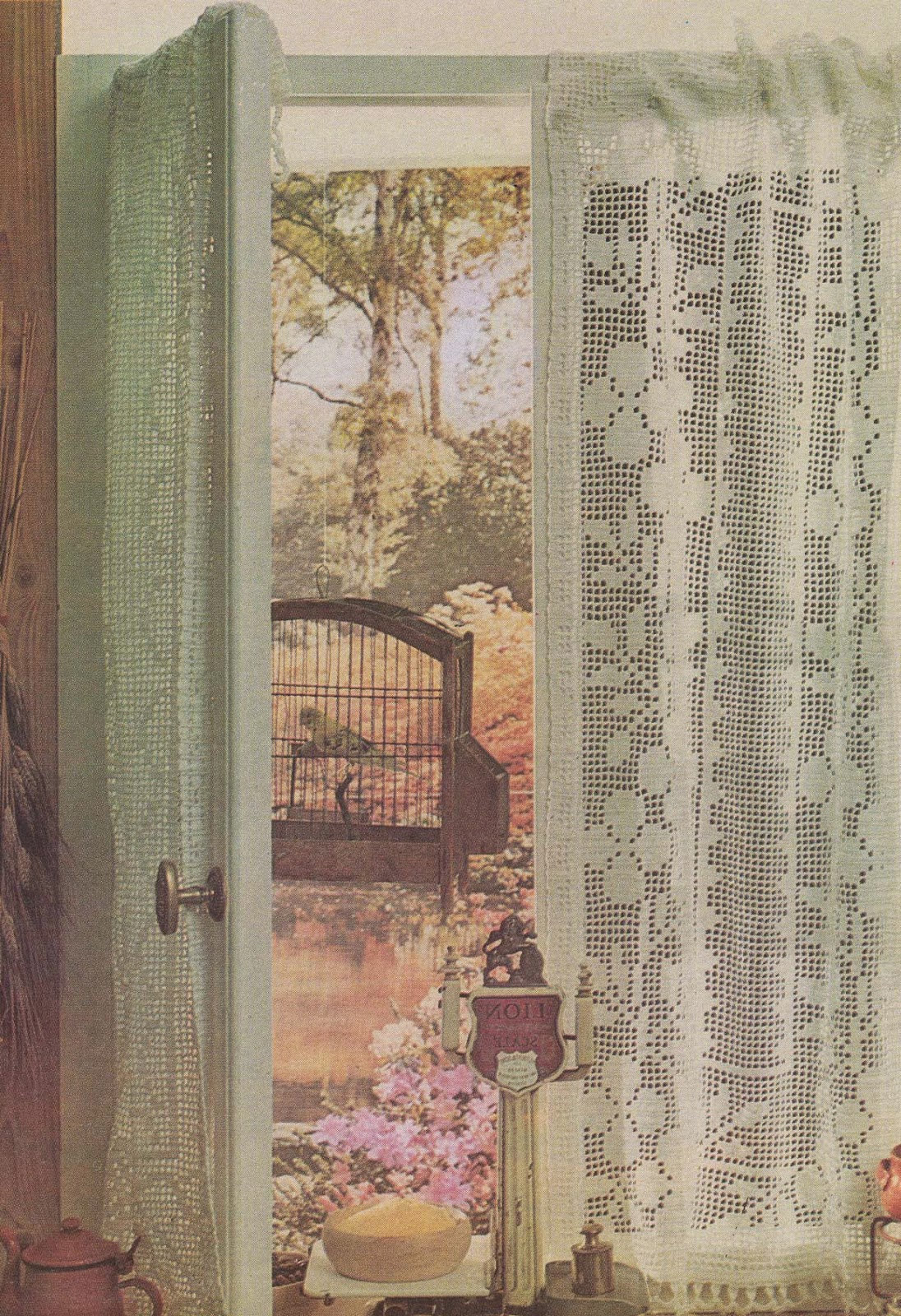 antoniadaix rideaux au crochet d 39 art. Black Bedroom Furniture Sets. Home Design Ideas