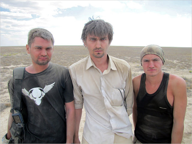 Казахстан. Мангистауская область. Плато Устюрт.